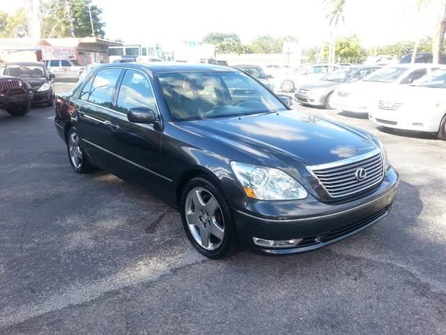 2005 lexus ls 430 4dr sedan autotrading usa. Black Bedroom Furniture Sets. Home Design Ideas